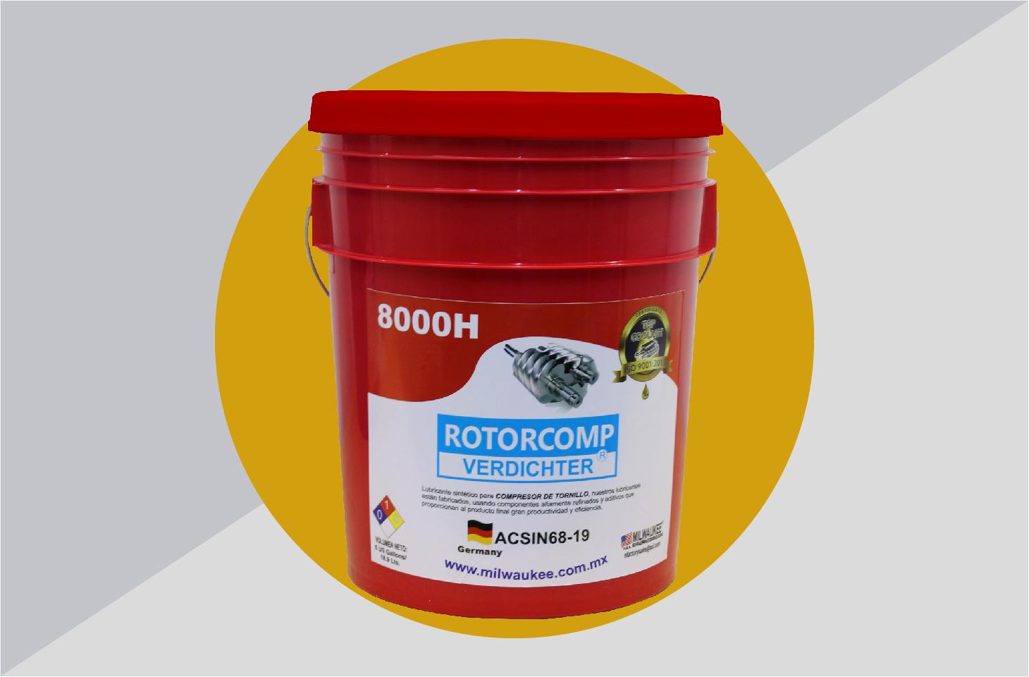Rotorcomp Verdichter 8000H